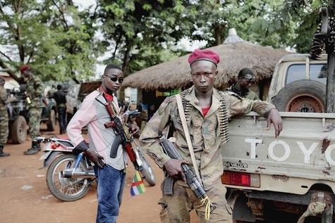 """""""Peurs et pillages dans la Centrafrique ignorée""""."""