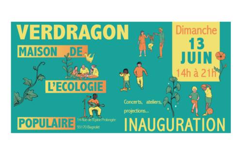 """""""Verdragon"""" : une maison de l'écologie populaire à Bagnolet"""