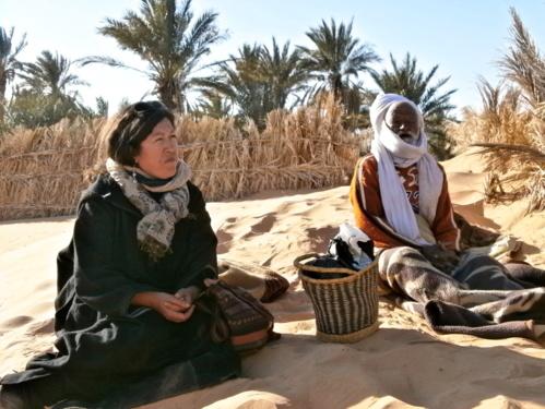 Ma conversation, sur la route, avec Habiba Djahnine