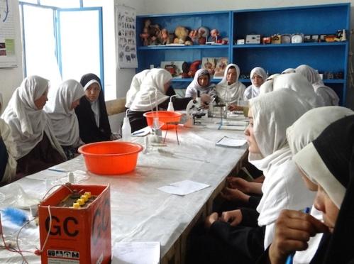 « L'éducation, c'est le vrai espoir de l'Afghanistan »
