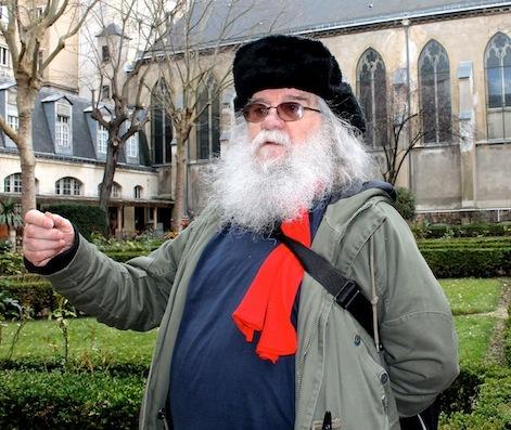 Les gens seuls, à Paris, la nuit : Pedro Meca est là, tout simplement