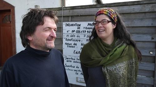 Marion et Gwenael, un couple passionné, passionnant.