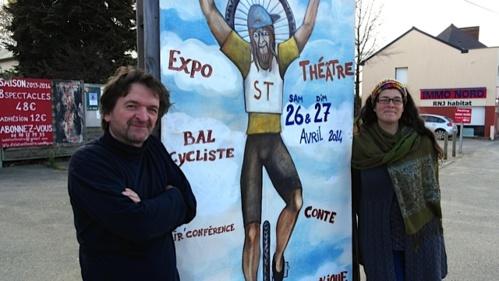 """A l'affiche de la quatrième édition du festival """"Augustes pédales""""."""
