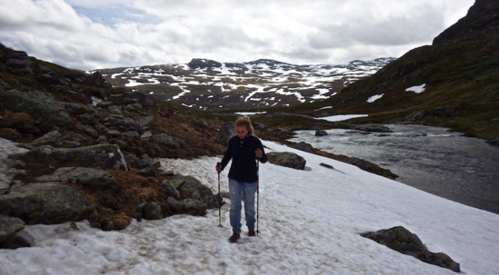 Cet été, Morgane dans les montagnes de Norvège