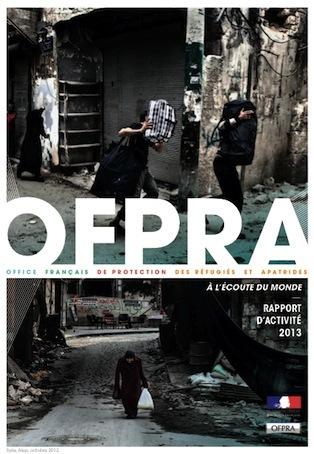 Le rapport d'activité 2013 de l'Ofpra en version pdf