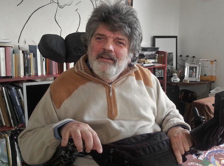 Marc Colmar, le corps assis, l'esprit debout, toujours!