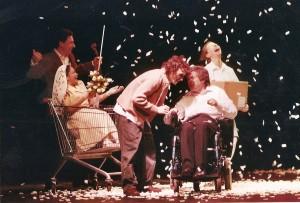 Sur scène : « Des vies exceptionnelles » (Photo DrÔle compagnie)