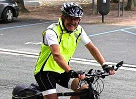 À vélo sur les pas de son père retour d'Allemagne