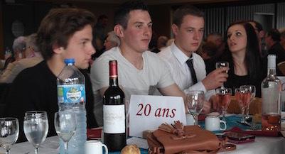 Les jeunes ont beaucoup contribué à la préparation de la fête