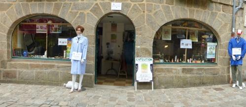 Ouvert tout l'été, rue de la Pinterie à Fougères