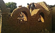 Le bâtiment a été autoconstruit aussi (©Ouagalab)