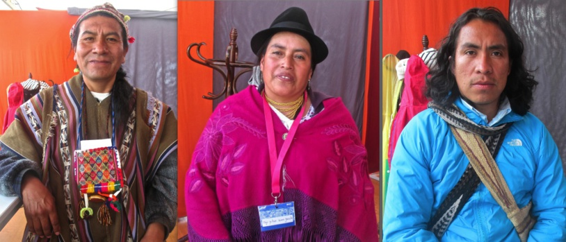 De g. à d. Cancio Rojas, Norma Mayo, Ricardo Camilo