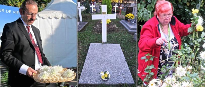 Les fleurs : le grand travail, le grand symbole, pour Henri, Janine et toutes les équipes de Dignité-Cimetière