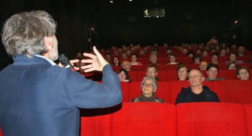 """Lors d'un échange autour du film """"Le testament de Tibhirine"""""""