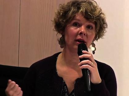 Lors d'une conférence des Economistes Atterrés (capture d'écran)