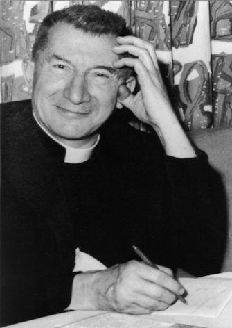 Jean Rodhain, fondateur du Secours catholique Caritas.
