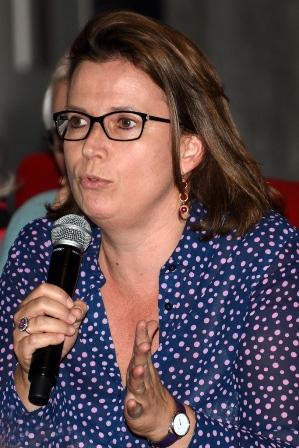 Claire Hédon à l'Assemblée nationale le 14 juin 2016 (photo : François Phliponeau ATD Quart Monde).