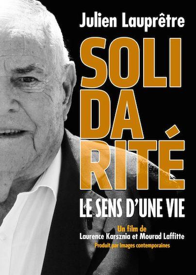 «Solidarité, le sens d'une vie»: un film bientôt sur Julien Lauprêtre