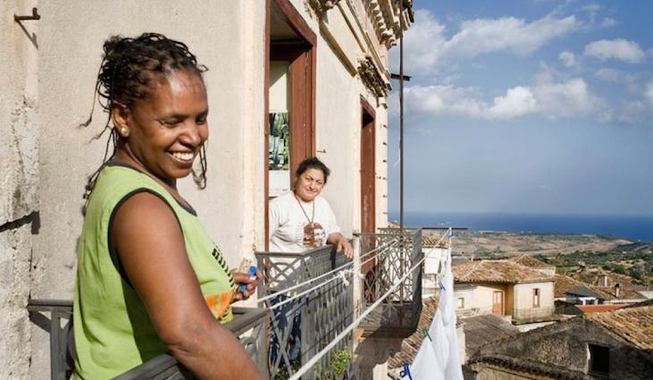 Ces habitants de Riace qui tendent les bras aux immigrés