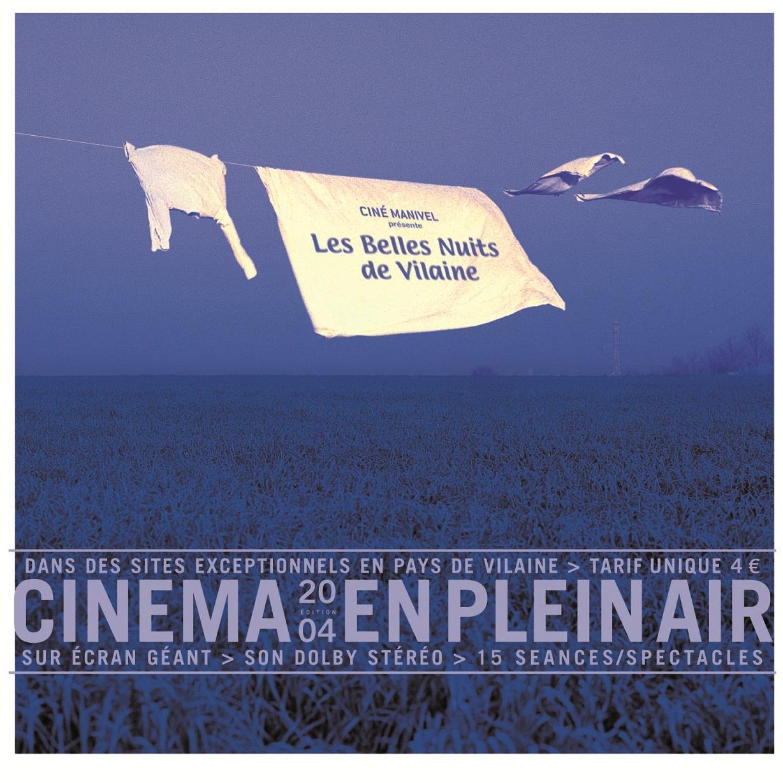 Affiche de 2004 des Belles nuits de Vilaine