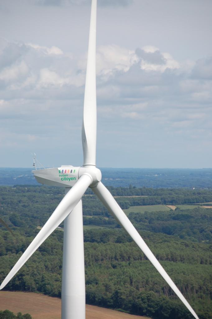 Les éoliennes citoyennes ont déployé leurs pales