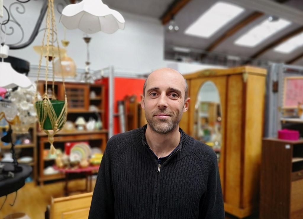 Franck Guillouzouic, directeur de la La Redonnerie, recyclerie du pays de Redon