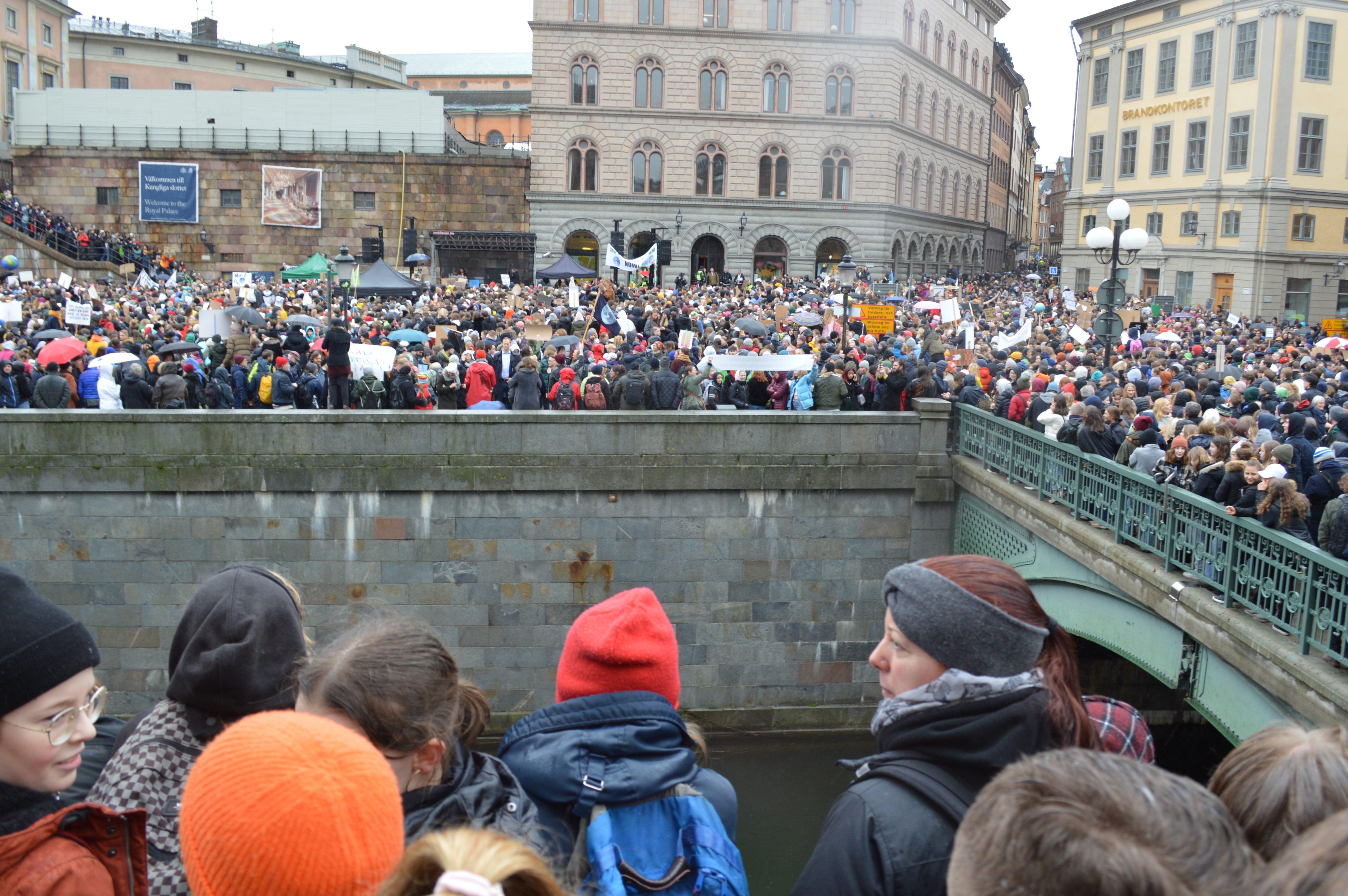 Vendredi 15 mars à Stockholm