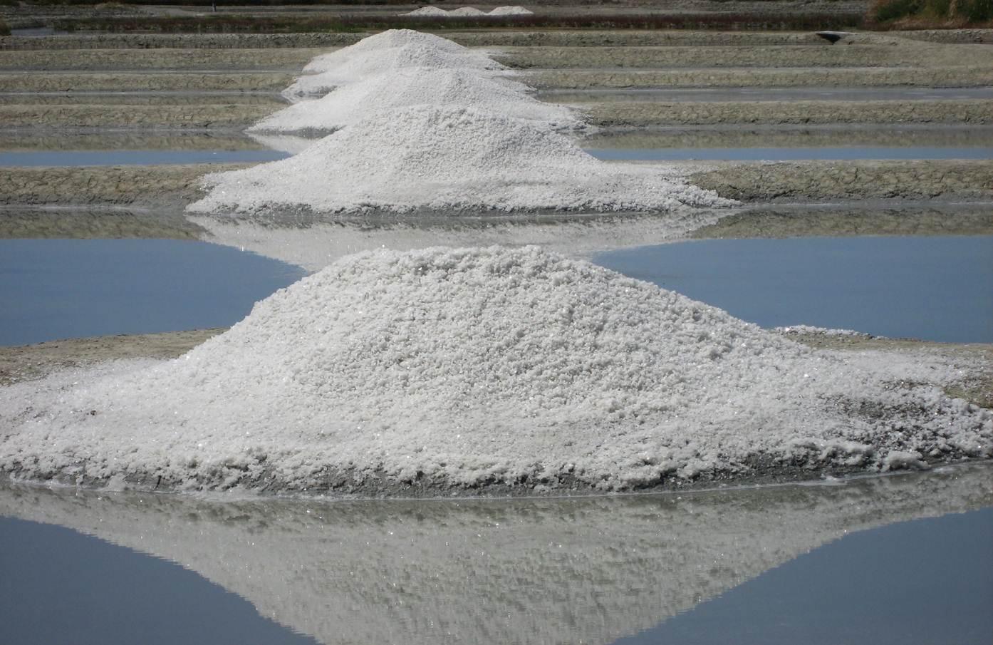 Le sel marin de Guérande, préservé par une indication géographique protégée (photo : Charles Perraud)