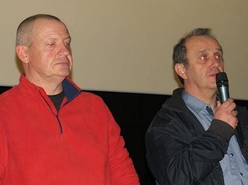 Pascal Brigant et Claude Le Guyader (Photo Collectif de soutien aux victimes des pesticides de l'Ouest)