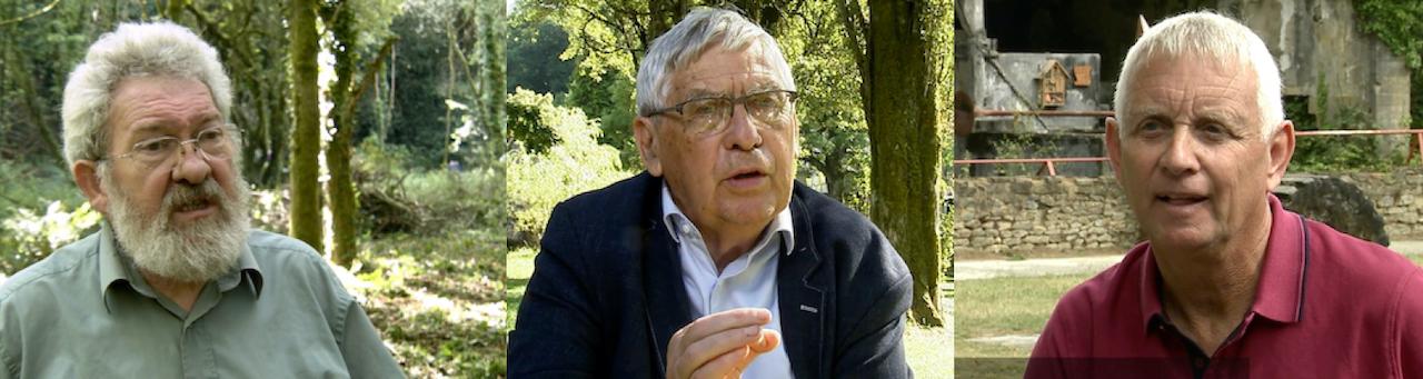 De g à d. : Youenn Landrein, Jean-Claude Pierre, Gilles Huet