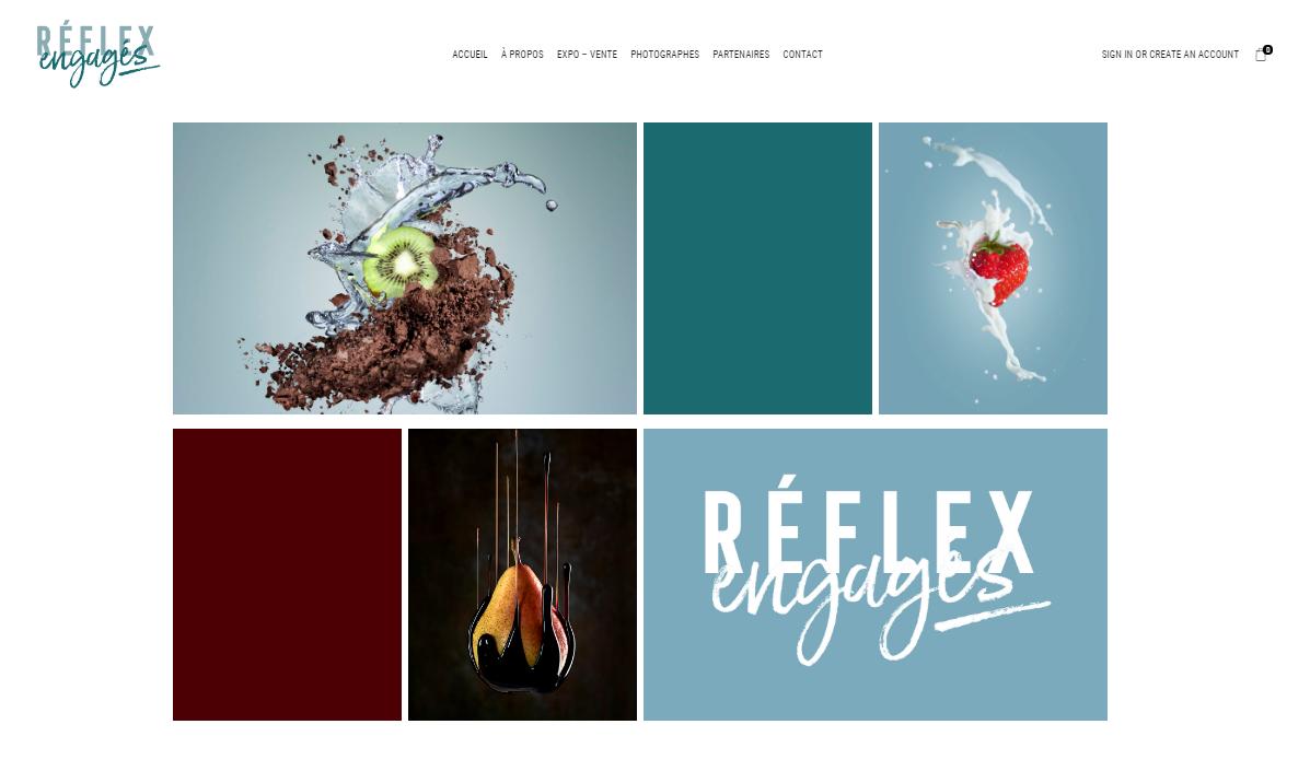 Visuel tiré du site Réflex engagés