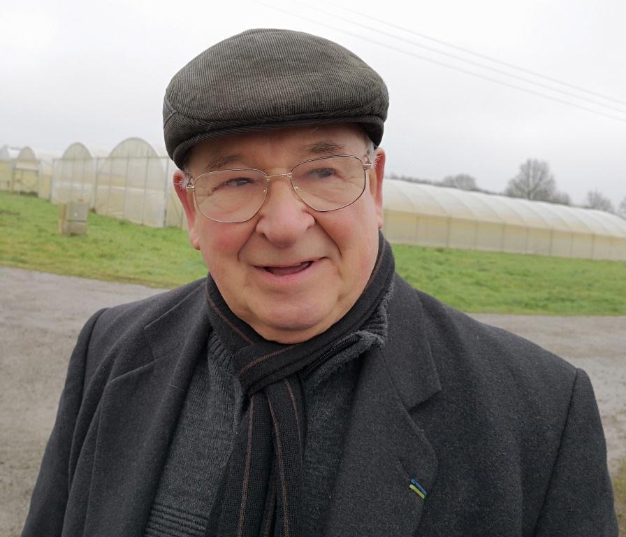 Dominique Chauvière, président de la Mémoire fruitière des pays de Vilaine