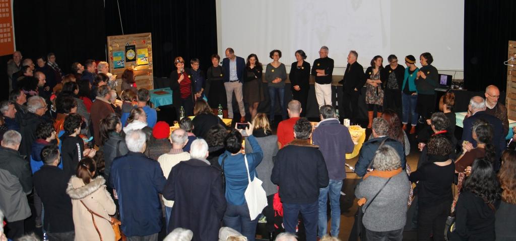 Inauguration de la coopérative funéraire de Rennes, 11 janvier 2020.