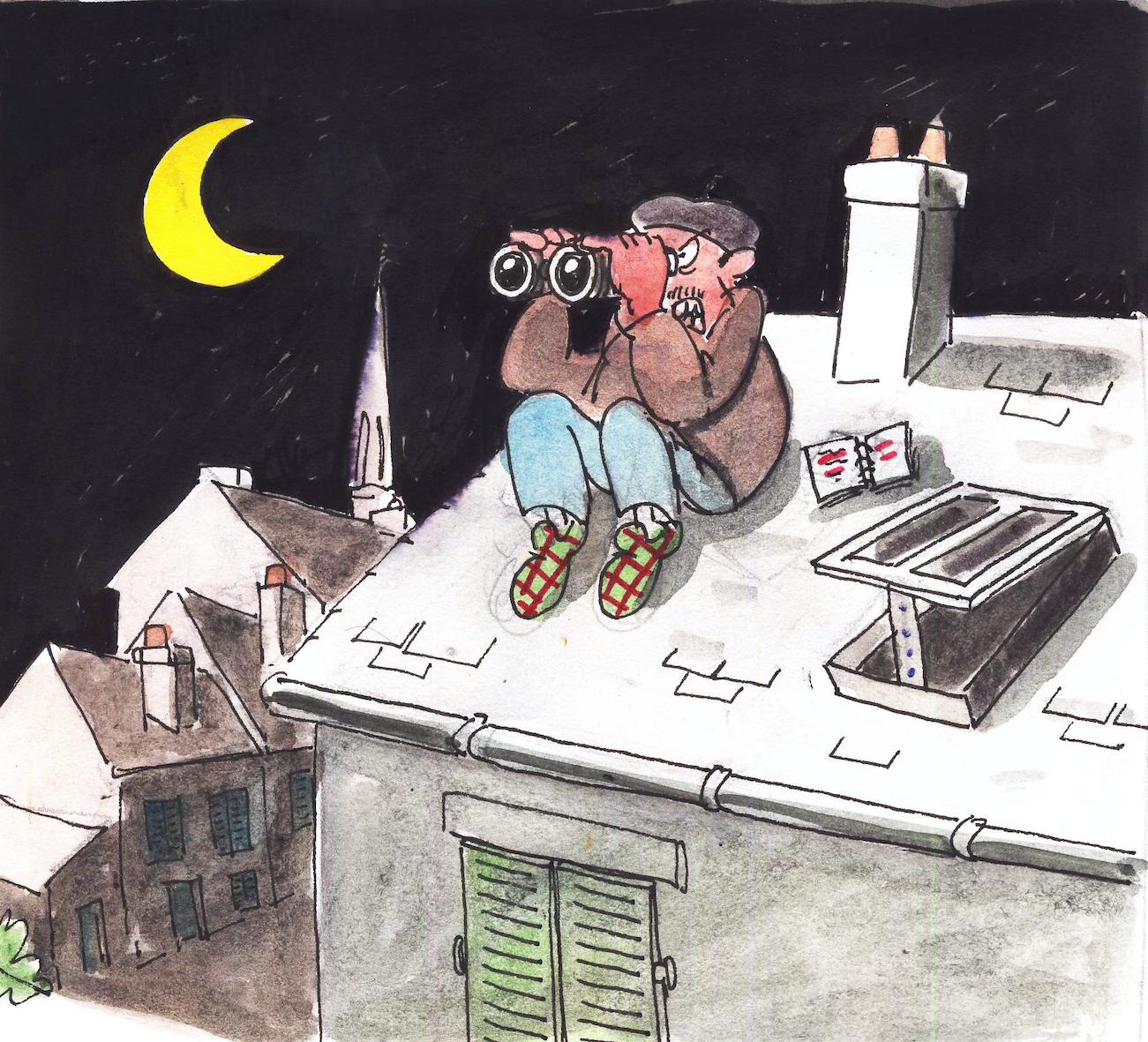 """Un roman feuilleton à suivre : """"Le mouchard est sur le toit"""""""