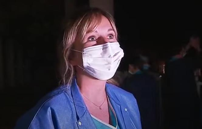 Capture d'écran YouTube sur un reportage de France 3 Corse ViaStella au service de réanimation du centre hospitalier d'Ajaccio