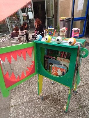 Les Monstrolivres pour donner le goût de la lecture (photo Bug)