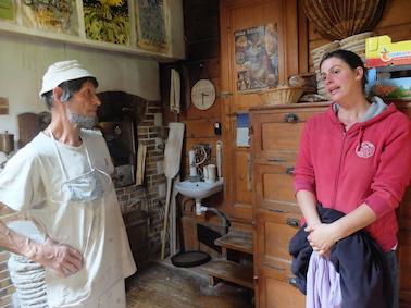En conversation avec Justine, boulangère passée en stage chez Daniel