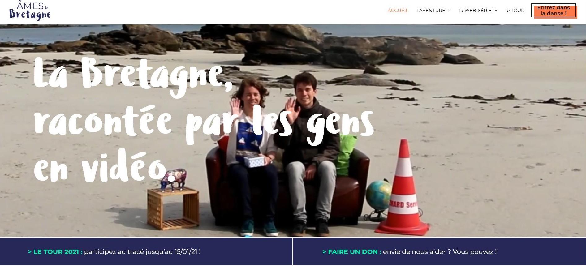 Anne Laure et Kevin Hamonont  créé l'association Âmes de Bretagne