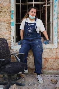 Après avoir participé à la révolution, Mélissa reconstruit Beyrouth