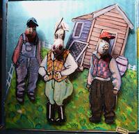 Moss, l'ex-braqueur devenu artiste singulier, généreux, sans masque