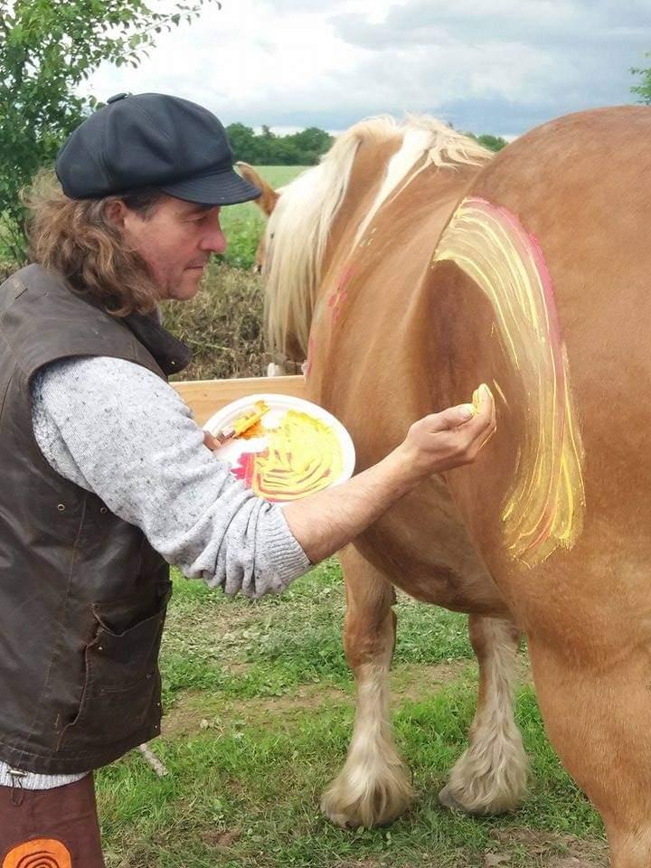 Inoubliable Luc Pérez, artiste croqueur d'âmes en Brocéliande