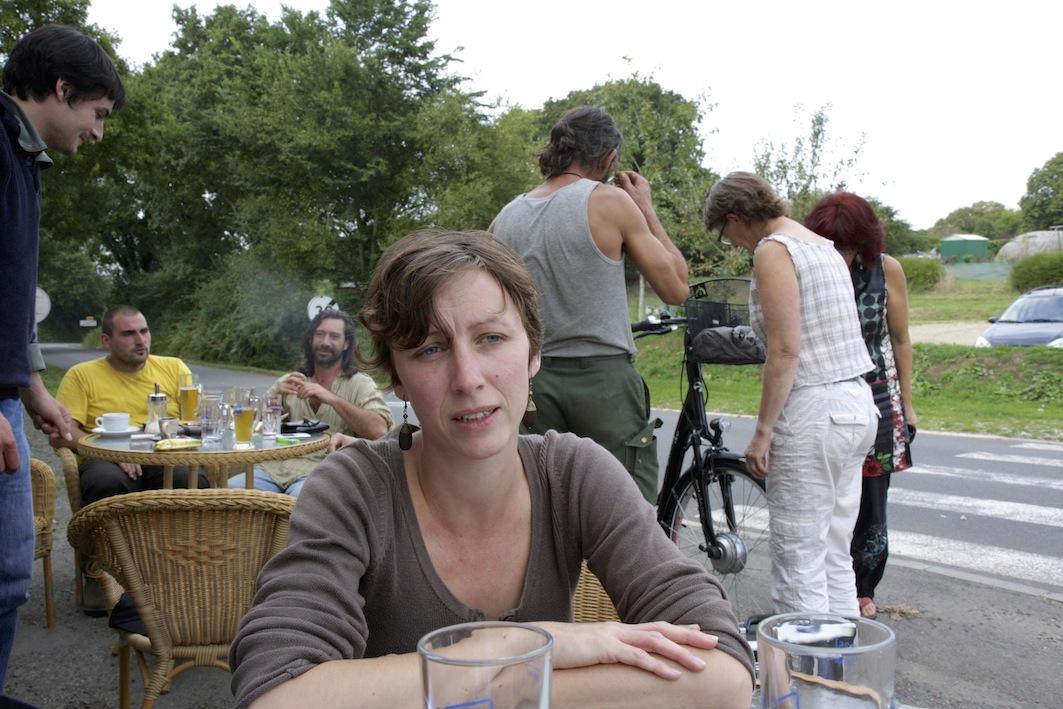 """Aurélie travaille au Tremargad Kafe : """"Il y a une envie commune de travailler tous ensemble."""""""