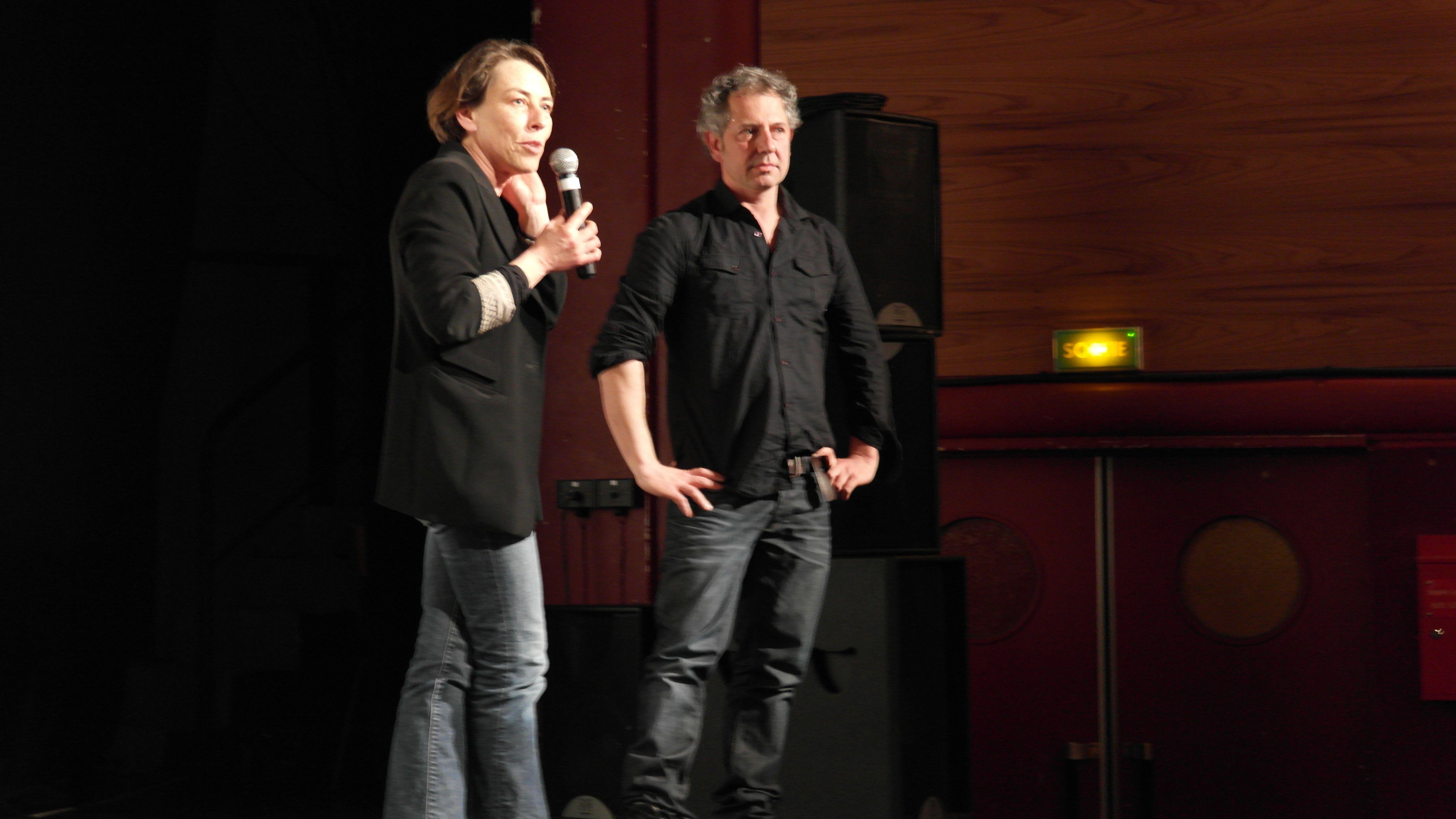 Mathilde Jounot et Franck Ollivry