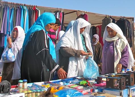 Sur un marché du sud tunisien