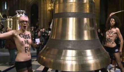 A propos des Femen à Paris : le féminisme aujourd'hui