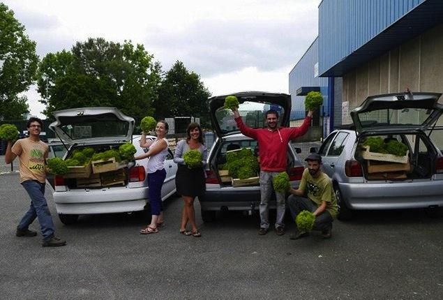 Les glaneurs de Nantes sauvent les légumes du gâchis