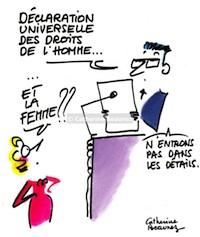 Catherine Beaunez, la résistance féministe par l'humour