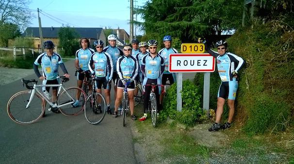 Autour de Ludovic, la solidarité olympique de Rouez-en-Champagne