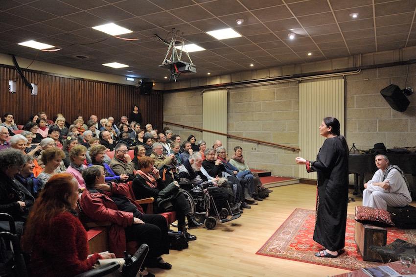 Les amis d'Histoires Ordinaire avaient rendez-vous salle de la MIR (Maison Internationale de Rennes).