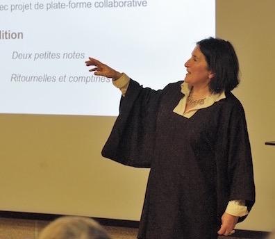 Marie-Anne Divet animatrice des éditions Histoires Ordinaires